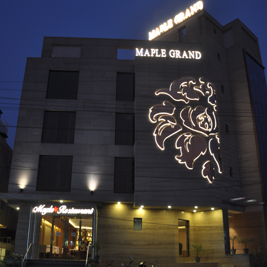Maple Grand Agra Is One Of The Leading 3 Star Hotel In A 2 Minute Drive From Taj Mahal